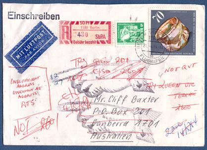 Deutsche Postautomation Belegdokumentation Sbpä
