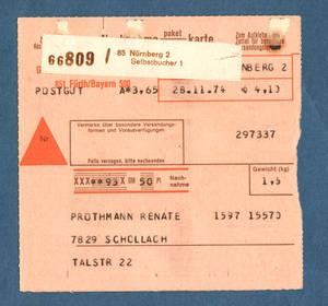 Deutsche Postautomation Quelle Und Edv Versand