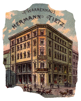 686ca1b5f9f3e1 Der vorstehende Bildausschnitt aus der Lithographie ist mir in dieser Form  mit einem Poststempel bereits aus dem Jahr 1898 bekannt. Im Jahr 1904 wurde  dann ...