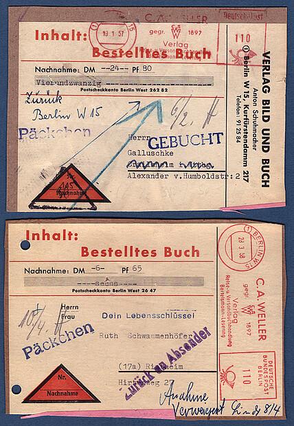 Sonderstempel Luftbrücke Geprüft Ideales Geschenk FüR Alle Gelegenheiten Berlin Aus 1948 Minr.6+13 Auf Briefausschnitt