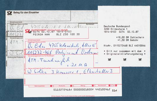 Deutsche Postautomation: EPOS II-STS ab 2.12.1987